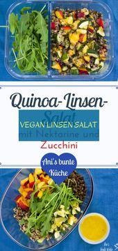 Salad | vegan lentils salad | vegan lettuce | #vegan #linsen #salat