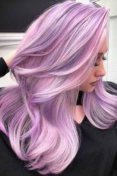 Herrliche persische rosa Höhepunkte #pinkhair #highlights ❤️ möchten Pastell erhalten…  – Hair Color