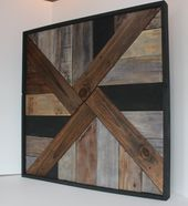 Afia Rustic Wall Art by SunKissedLaser on Etsy