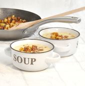 Bratkartoffel-Suppe. Lecker!