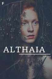 Althaia Bedeutung Heilung griechischer Namen Ein Babynamen Ein Babynamen weiblicher Namen