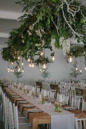 Mariage d'or et de verdure contemporain chez Neo par Christene de Coning