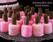 Marshmallow Nagellackflaschen & Make-Up Cake   – Beauty