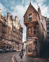 ~ 🇬🇧 Cockburn Street, Edimburgo ~ 📸 Phot