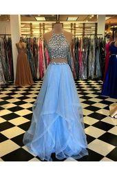 Jjshouse Two Piece Prom Dresses few Prom Hairstyles For Two Piece Dresses off Two Piece Prom Dresses For Rent plus Fashion Nova Flowy Dress #formaldre...