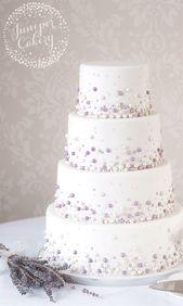 Moderne Perle Hochzeitstorte von Juniper Cakery #WeddingCakes   – cakes