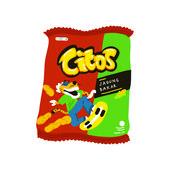 Cheetos Jagung Bakar Menggambar Makanan Kartun Desain Banner