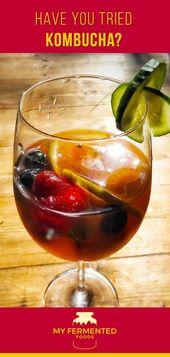 Kombucha ist ein natürlich erfrischender fermentierter Tee voller Probiotika. Erfahren Sie, wie …   – Fermented Drink Recipes