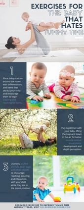 TUMMY TIME: Brain-Building Tummy Time Exercises to Prevent Learning Delays in your Child