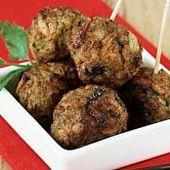 Bola de masa de carne molida Dukan Diet (4.5 / 5)   – culinária