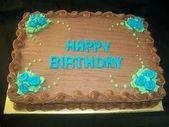 Ideen für dekorierten Blechkuchen Schokoladen Geburtstagstorte … – Kuchen -…   – Blechkuchen