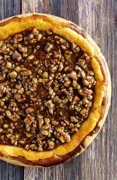 Pecan Pie Cheesecake Thanksgiving und Weihnachtsdessert