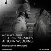 Wenn es eine große fette indische Hochzeit ist, müssen Sie in Hochstimmung bleiben. . Wir machen …