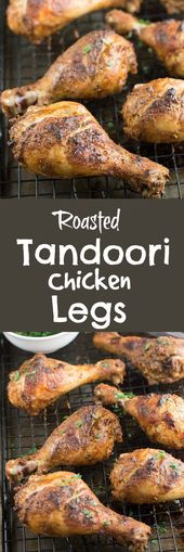 Tandoori Inspired Roasted Chicken Legs – Savory Spicerack