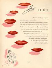 Der 1940er Make-up und Beauty Guide | Glamourdaze   – Beauty
