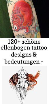 120+ schöne Ellbogen Tattoo Designs & Bedeutungen – beliebte Styles (2018 90   – Tattoos