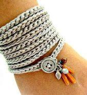 Armbänder häkeln – #Armbänder #bohemian #häkel…