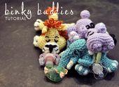 Vor ein paar Wochen hat mir ein Freund bei der Arbeit die wubbanub-Website vorgestellt. Wubbanubs …  – Crochet crafts