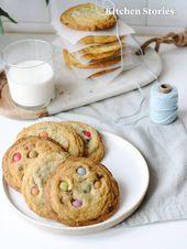 Photo of Leckere Subway-Cookies mit Smarties: Rezept | Kitchen Stories
