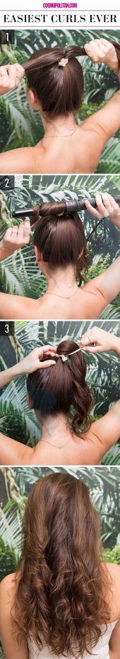 Großartig Großartig We have found 21 tutorials for super simple and super chic hairstyles for …, #artig #avons #coiffures #deniche #frisur