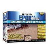 Rust-Oleum Epoxy Shield Basement 1 gal. Gray Floor Coating Kit-203843 at The Hom…  – jg6665…   – Epoxy Crafts