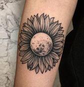 50 Sonnenblumen Tattoos für Frauen – 1