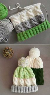 Cozy Cable Knit Hat – Free Pattern
