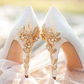 32 Blumenhochzeitsschuhe Ideen für Frühjahr und Sommer Hochzeit