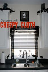 42 Scary Indoor And Outdoor Halloween Decoration That You Can Make