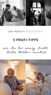 5 Tipps, wie Du in Wohnungen mit wenig Licht helle Familienfotos machst