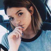 Einzigartige Kurze Frisuren für Attraktive Damen