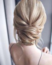 Hochsteckfrisuren als Allrounder unter den Brautfrisuren – Was Ihre Brautfrisur über den Stil Ihrer Hochzeit verrät   – Hochzeitsinspirationen  | kleiner Flieder
