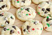 Rezept: Kekse von Santa Claus mit Schokoladenstückchen   – desserts