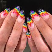 Die schönsten Sarg Acrylnägel Design für diese Saison – Seite 11 von 20 – Mode   – Nail Art Designs Totally Stunning