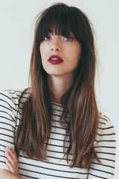TOP 31 bangs hairstyles inspiration ideas haircuts pictures