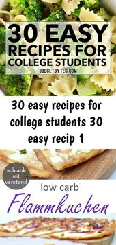 30 easy recipes for college students 30 easy recip 1