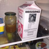 Stranger Things, Missing, Milk Carton ,Printable Party Favour