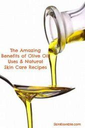 Olivenöl Hautpflege Rezepte. Olivenöl ist nicht nur zum Kochen da. Verwenden S…