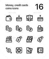 credit card illustration #kreditkarte Money, Credit Cards, Coins Icons for Web a…