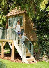 Baumhaus für Kinder: 100 Ideen, die Spaß und Abenteuer versprechen – Neueste Dekoration