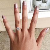 Traditional Solitaire Engagement Ring   – Hochzeit