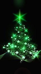 Photo of Weihnachtstapete Weihnachtsbaum, Weihnachten, neues Jahr, Kunst
