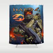 Halo 4 Shower Curtain Ideas Best Design Halo4 Showercurtains