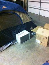Ruggedizing och bug-proofing ett fönsterluftkonditioneringsapparat för tältcamping