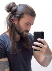 98 Inspirational Haircuts for Men with Long Hair 2019
