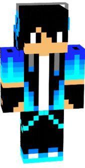 Ariomnas Mc Original Blue Cool Boy Skin Minecraft Character Skins Blue Game Minecraft Skins
