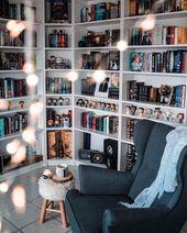 141 DIY-Bücherregal-Pläne und -Ideen zum Organis…