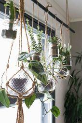 33+ Beste Outdoor-Kreative, DIY Hängepflanzer Ideen