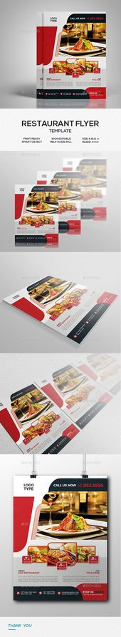 Restaurant Flyer Flyer template, Menu printing and Print templates - restaurant flyer
