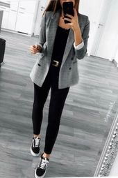 49 Winter Clothes to Work That Look Classy Pair wi…